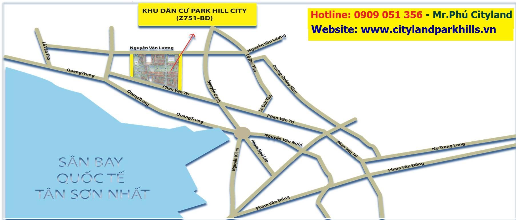 Viên Ngọc Xanh 27ha Cityland Park Hills Gò Vấp
