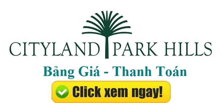 Cityland Park Hills - Giá trị vàng của nhà liền thổ