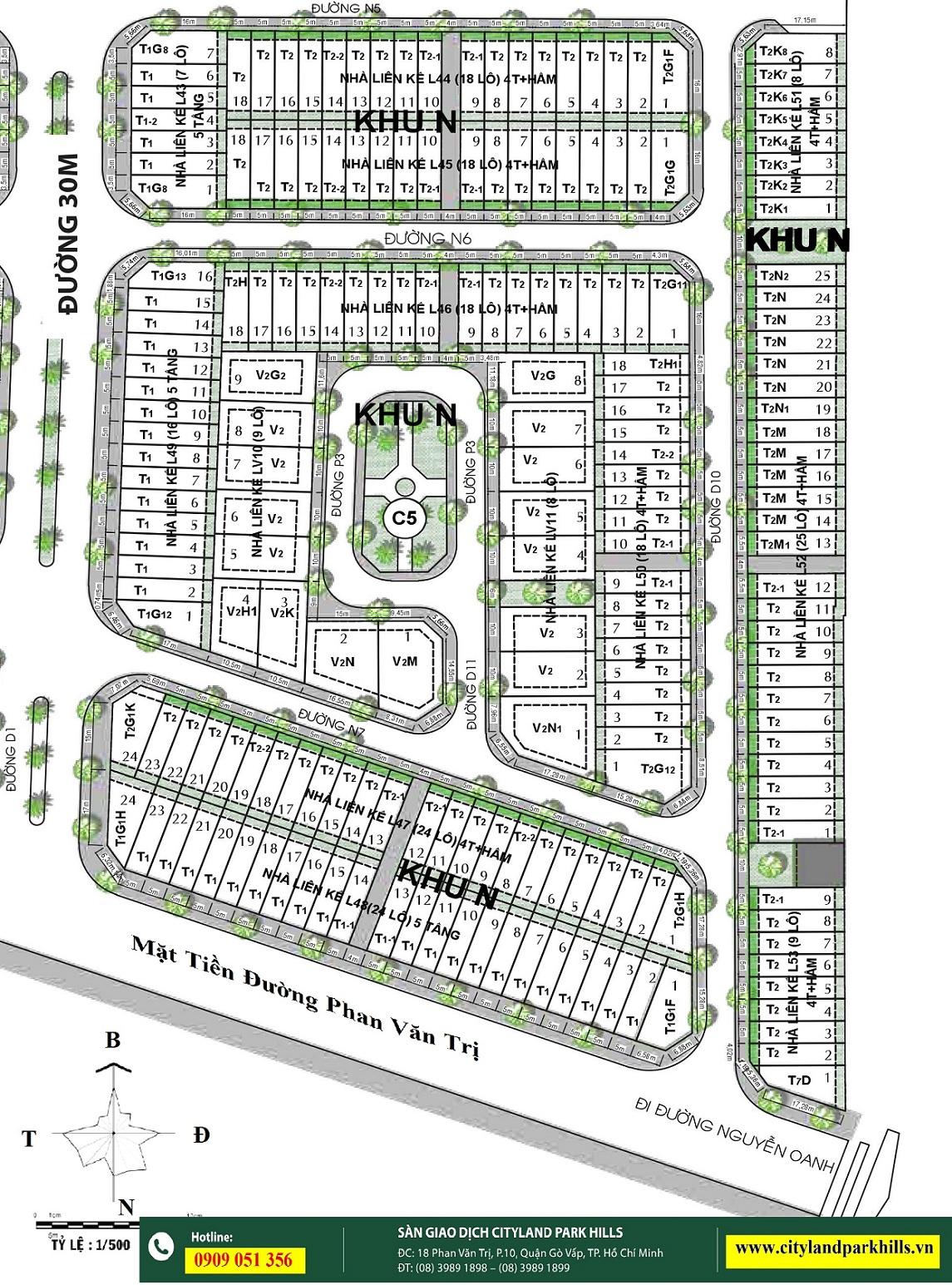 Dự Án Cityland Park Hills Gò Vấp - Mở Bán Nhà Phố Đợt 4 Tháng 4.2018