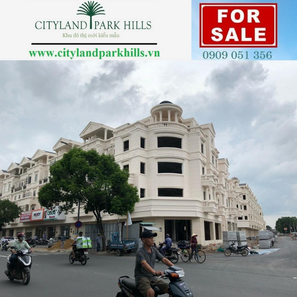 Bảng Gía Dự Án Cityland Park Hills Gò Vấp - Mặt Tiền Phan Văn Trị