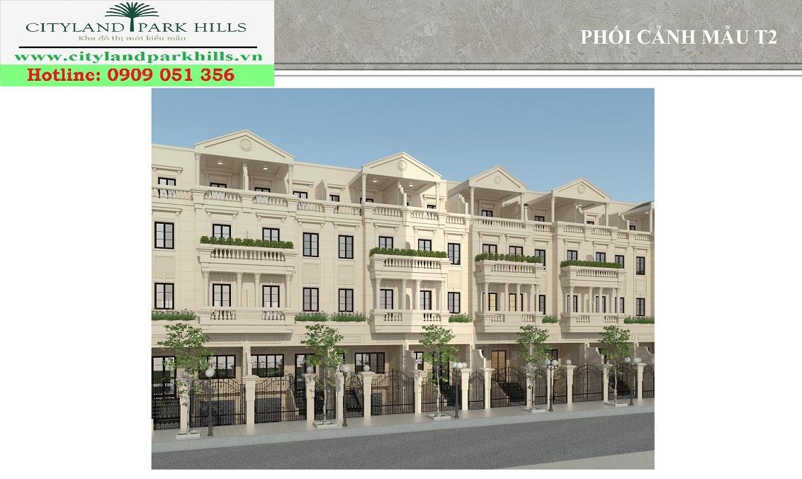 Dự án Cityland Park Hills Gò Vấp mẫu nhà T2