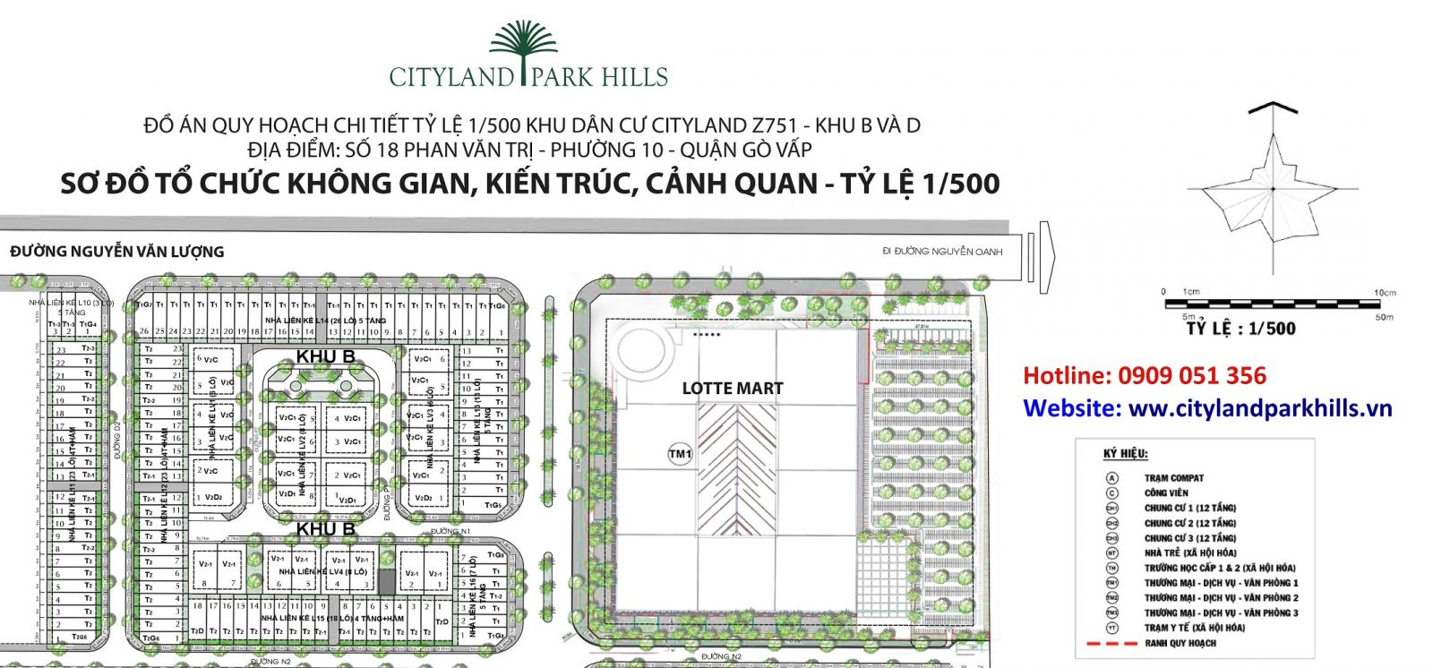 Mở bán khu B cityland park hills đối diện Lotte Mart Gò Vấp