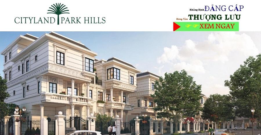 Biệt thự Cityland park hills khu N cần bán
