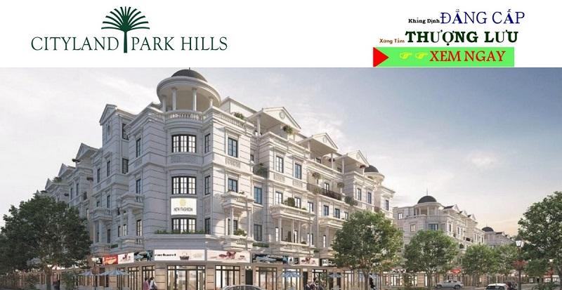 Nhà Phố Căn Góc Cityland Park Hills Gò Vấp