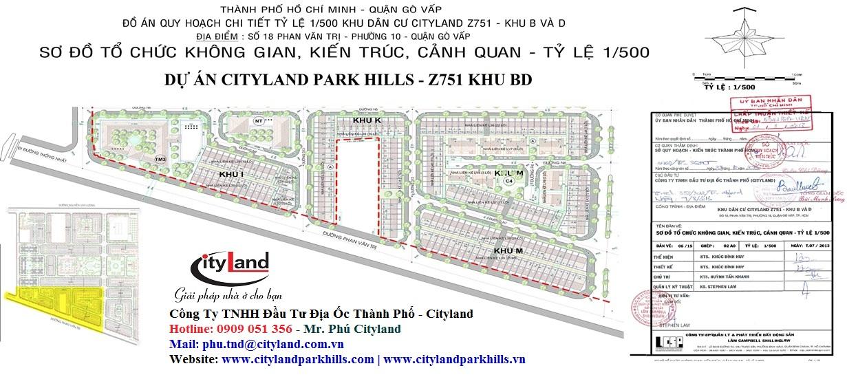 Mở bán Cityland park hills khu IKM