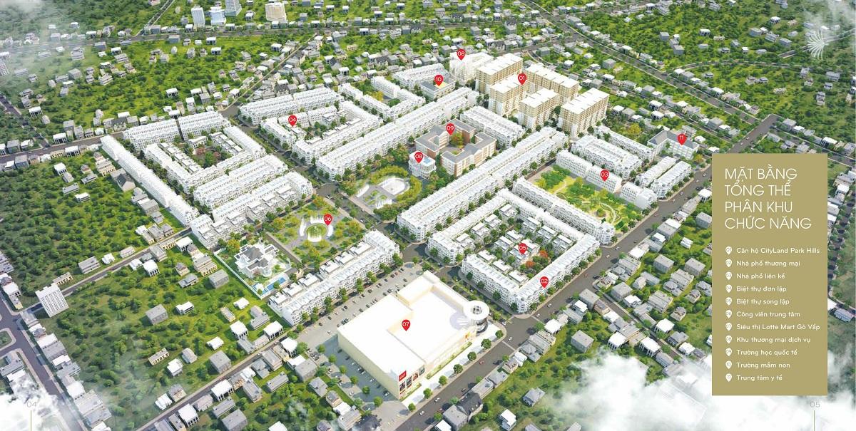 Dự án cityland park hills gò vấp mở bán khu B ngay Lotte Mart