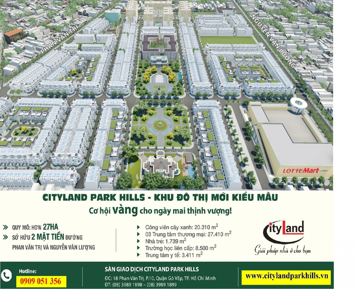 Dự án Cityland Park Hills phan van tri