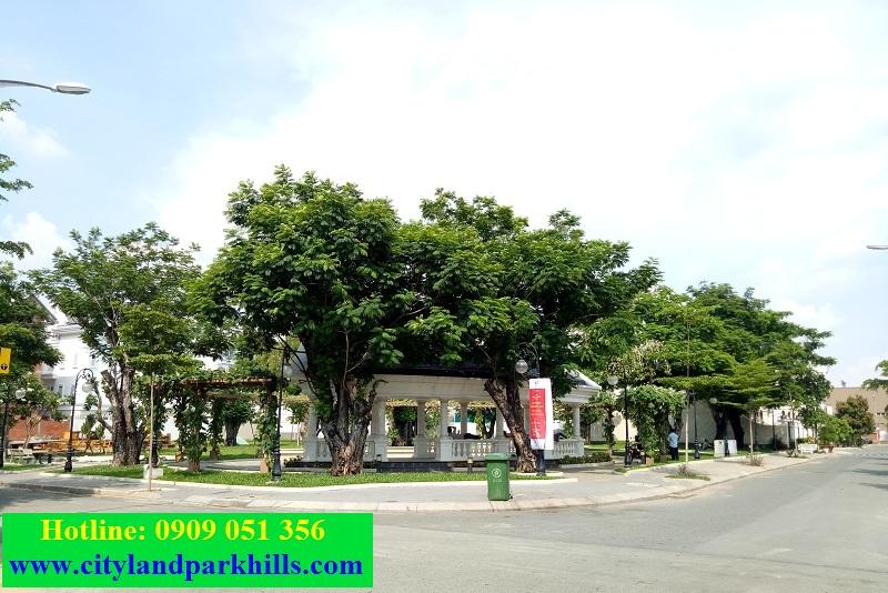 Công viên cây xanh dự án cityland garden hills