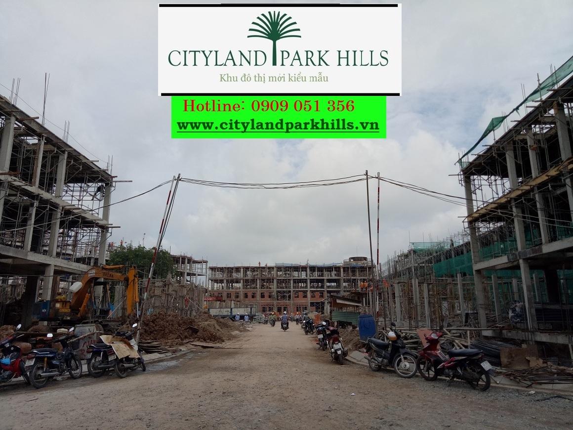 Tiến độ thực tế dự án Cityland Park Hills Gò Vấp
