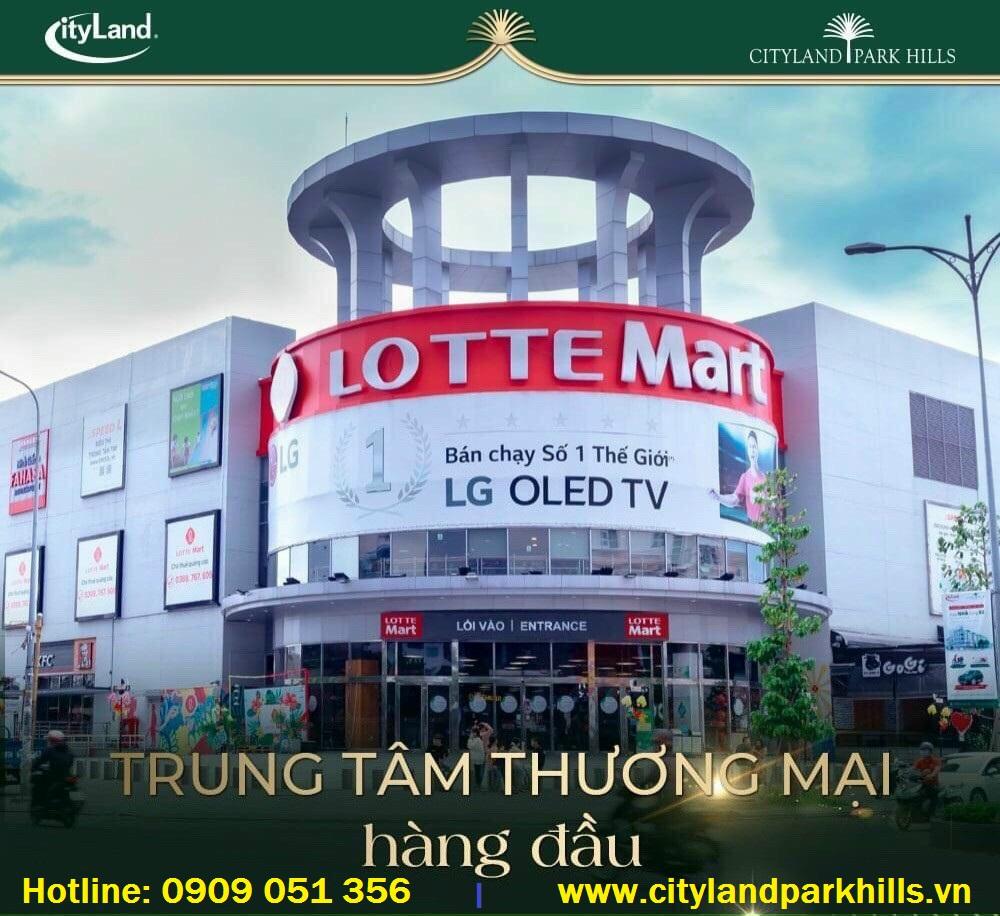 Đại siêu thị Lotte Mart Cityland Gò Vấp