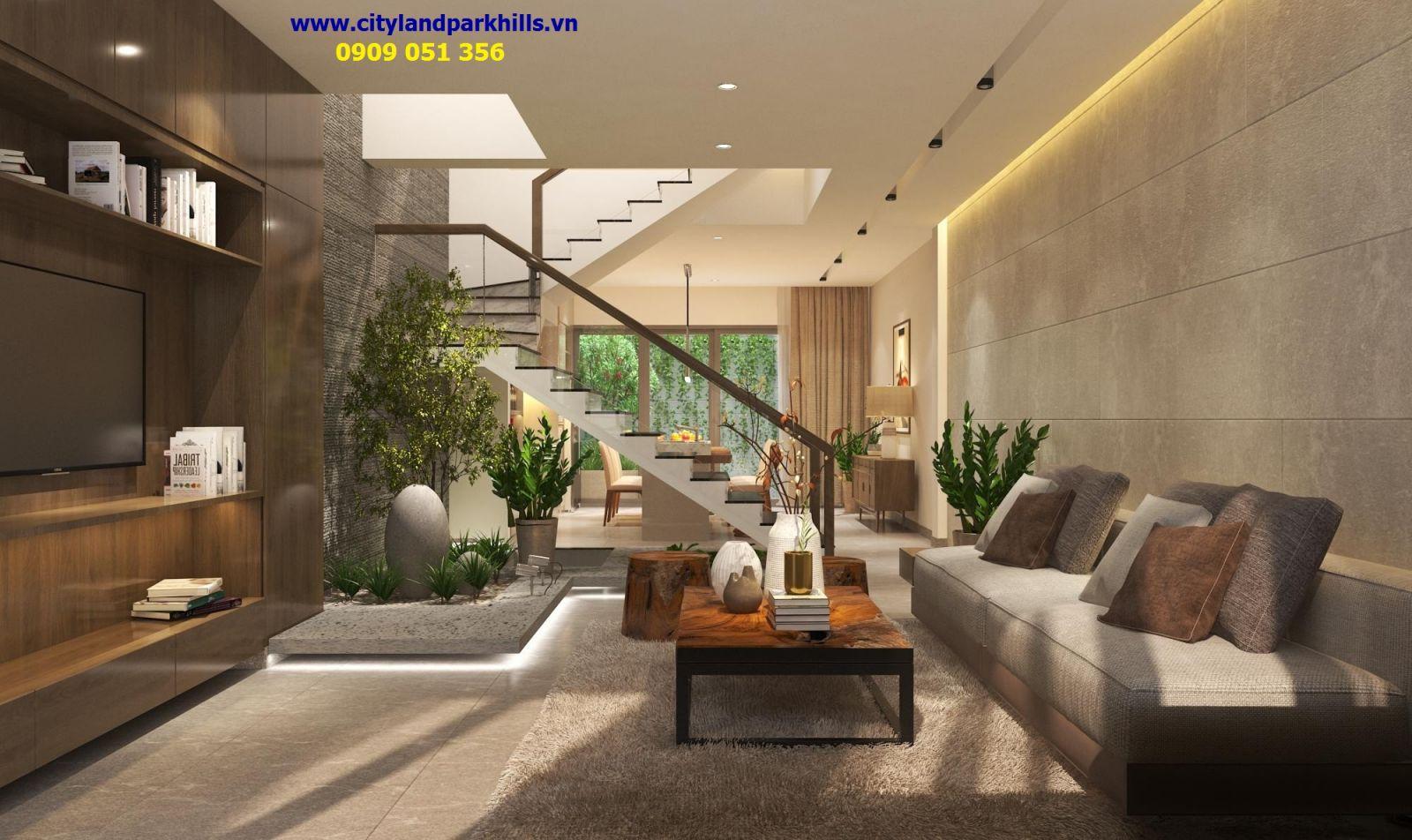 Thi công hoàn thiện nội thất nhà phố cityland