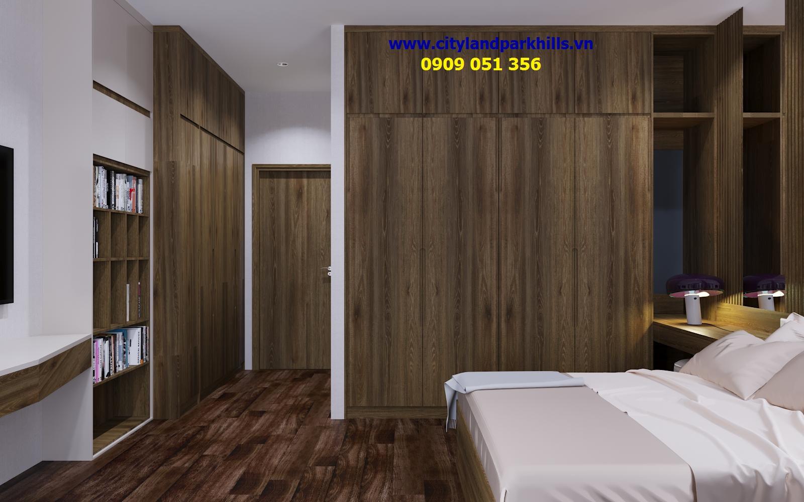 Phòng ngủ nhà phố cityland