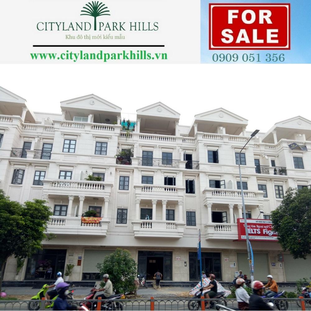 Cho thuê nhà phố cityland park hills