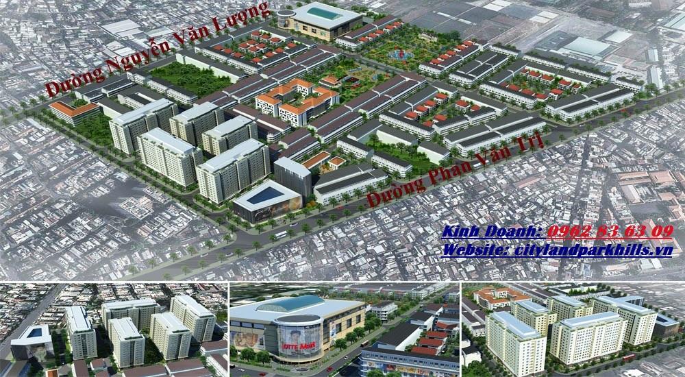 Vị trí dự án Cityland Park Hills City Gò Vấp