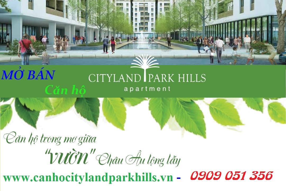 Mở bán căn hộ Cityland Park Hills Gò Vấp