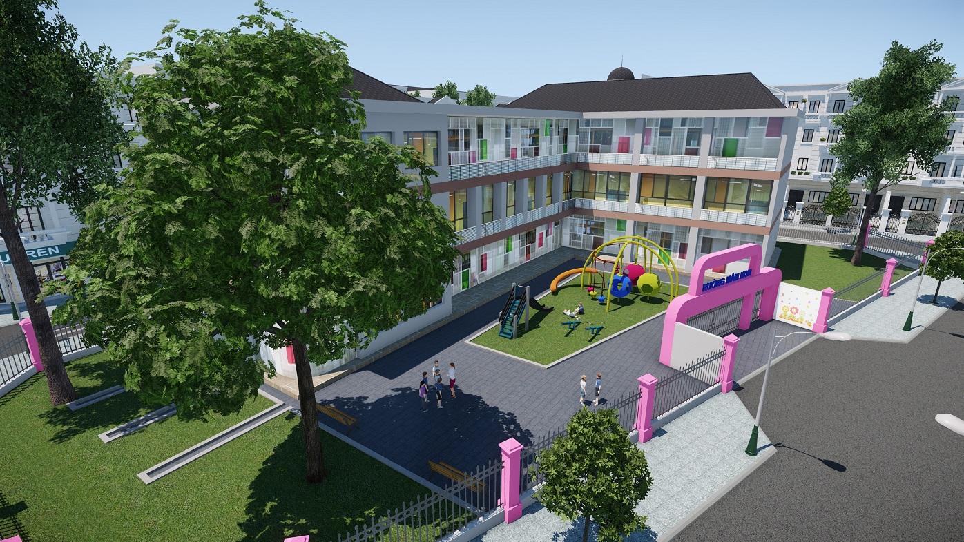 Trường mầm non dự án Cityland Park Hills